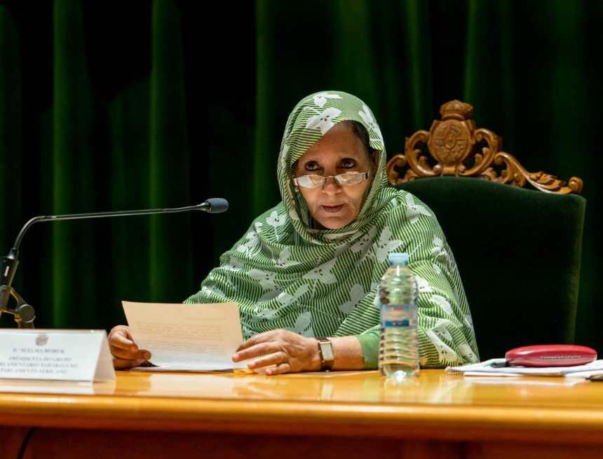 """Ministra de Asuntos Sociales alaba el papel de la mujer durante la pandemia: """"El 80% de la labor ha sido desarrollada por mujeres""""   Sahara Press Service"""