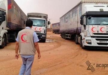 Realitzem la primera ajuda a la Mitja Lluna Roja Sahrauí | Federació ACAPS