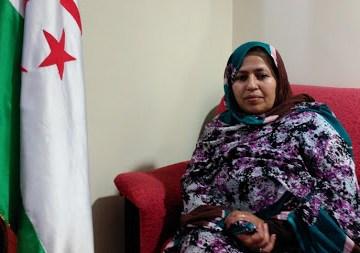 Entrevista com Jira Bulahi, Ministra de Salud de la RASD | POR UN SAHARA LIBRE .org – PUSL
