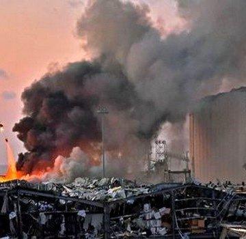 President of Republic sends message of condolence to his Lebanese counterpart following Beirut Port blast | Sahara Press Service