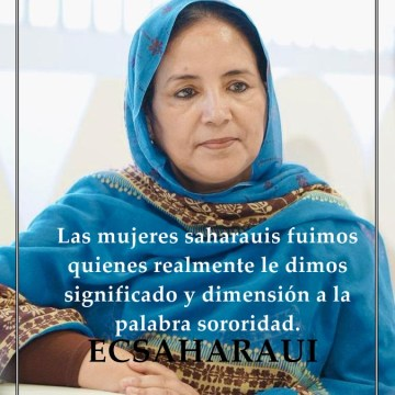 El Confidencial Saharaui (ECSaharaui)  entrevista a Jadiyetu el Mohtar @Jadiyetumohtar