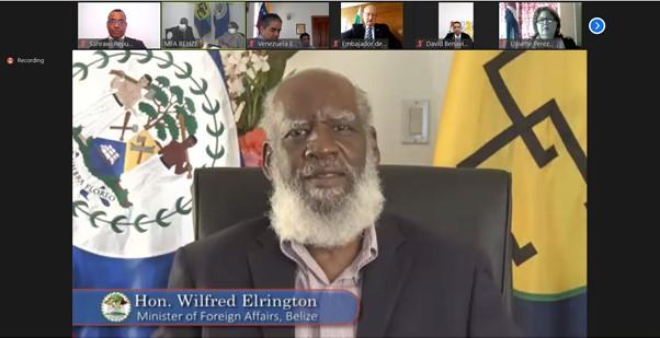 El Frente POLISARIO participa en el encuentro anual del cuerpo diplomático acreditado en Belice | Sahara Press Service