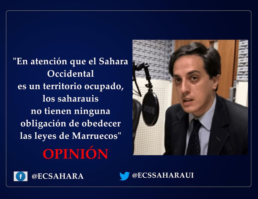 OPINIÓN: la aplicabilidad de la Convención de Ginebra queda fuera de toda discusión para el caso del Sahara, por el Dr Jorge Alejandro Suárez Saponaro