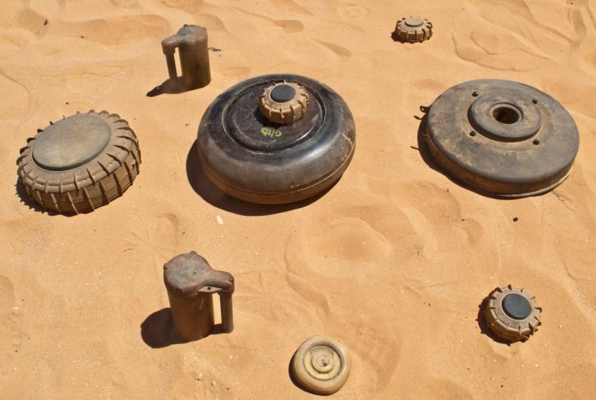 Millones de minas terrestres esparcidas, otra fuente de sufrimiento para el pueblo saharaui (prensa) | Sahara Press Service