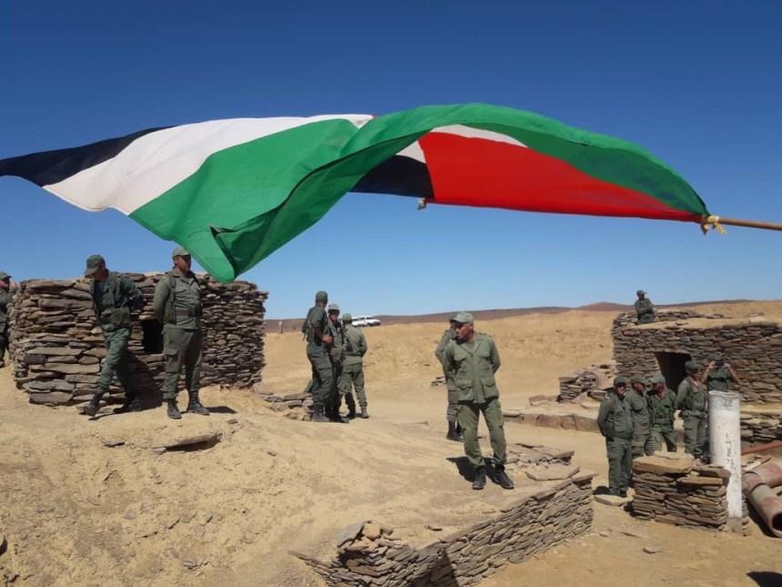 Crece la tensión en el Sáhara Occidental | Civiles saharauis llegan hasta el muro de la vergüenza para manifestarse y denunciar la presencia ilegal del ejército de ocupación marroquí