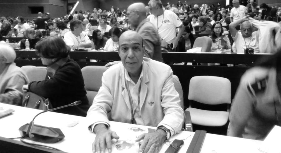 Sahara Occidental Mohamed Ali representante Latinoamerica la-tinta