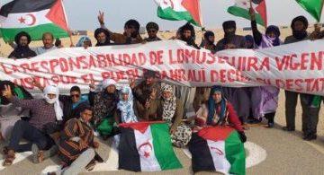 Los ciudadanos de la localidad liberada de Mijek organizan una concentración frente al muro de la vergüenza | El Portal Diplomático