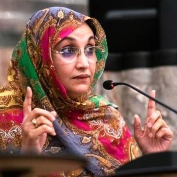 Aminetu Haidar muestra su total apoyo a los manifestantes saharauis en El Guerguerat | Sahara Press Service