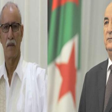 Presidente Brahim Gali desea pronta recuperación a su homólogo argelino, Abdelmadjid Tebboune | Sahara Press Service