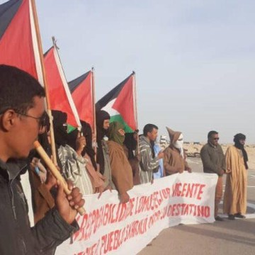 El Movimiento Solidario Español respalda a los manifestantes saharauis de El Guerguerat