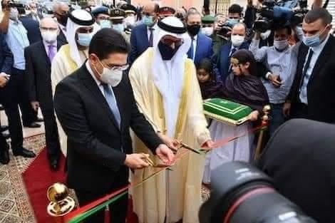Emiratos Árabes Unidos inaugura «consulado» en El Aaiún, y se convierte en el primer país árabe con representación diplomática en el Sáhara ocupado