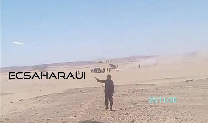 Severos ataques con lanza misiles contra posiciones del ejército marroquí en el Sáhara Occidental