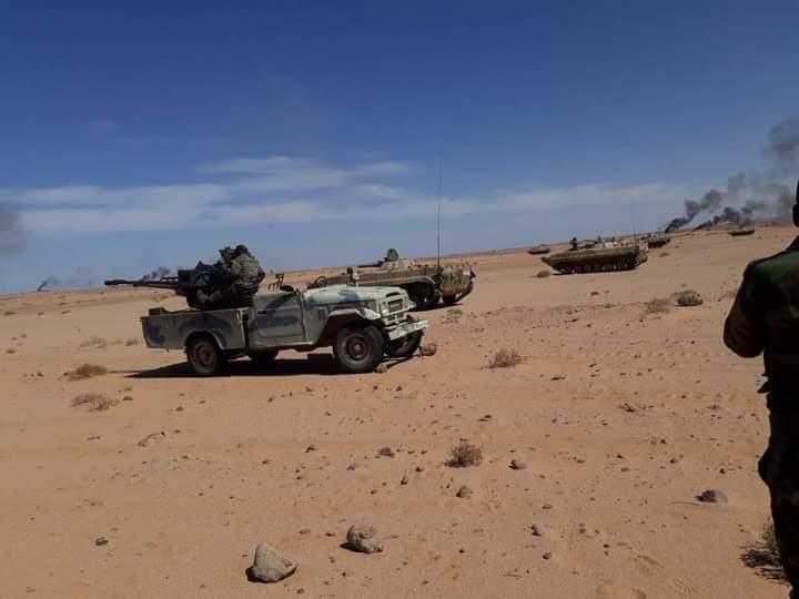 El Ejército saharaui lanza un nuevo ataque con proyectiles en la región de Hauza, al norte del Sáhara Occidental.