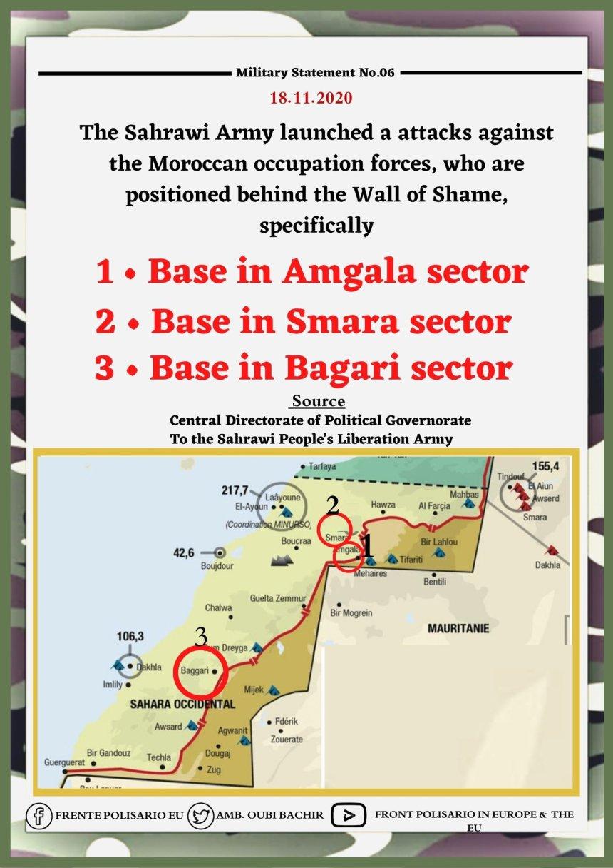 ¡ÚLTIMAS noticias – Sahara Occidental! | 18 de noviembre de 2020