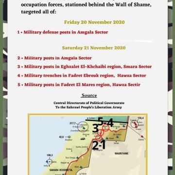 ¡ÚLTIMAS noticias – Sahara Occidental!   21 de noviembre de 2020