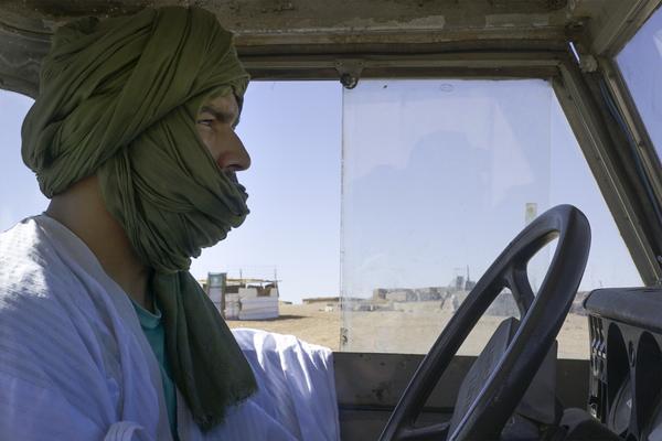 Sáhara Occidental | Turbante verde – El Salto – Andalucía