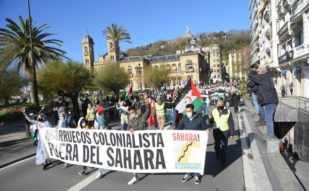 El Movimiento Sáhara Euskadi exige la mediación del Gobierno en el conflicto | El Diario Vasco