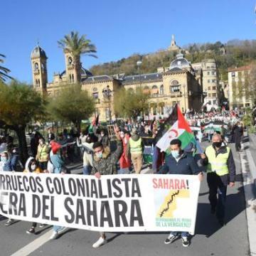 El Movimiento Sáhara Euskadi exige la mediación del Gobierno en el conflicto   El Diario Vasco