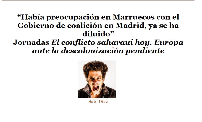 """TLAXCALA: """"Había preocupación en Marruecos con el Gobierno de coalición en Madrid, ya se ha diluido"""""""