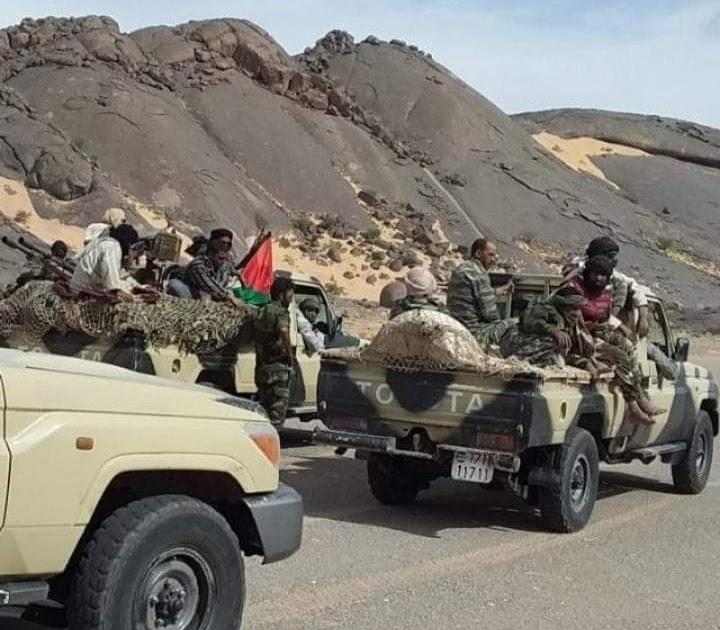 GUERRA EN EL SAHARA   Parte de guerra Nº27