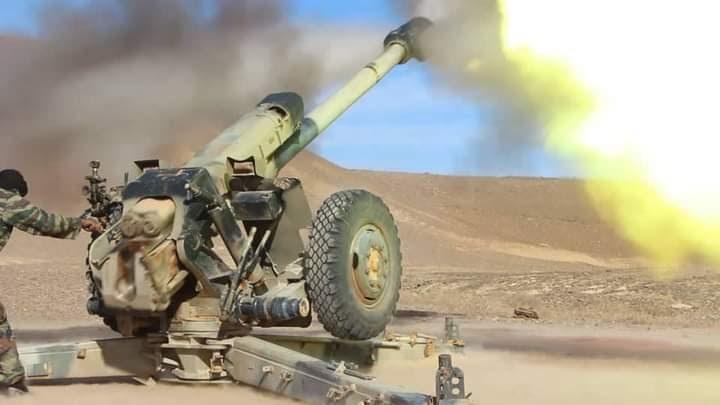 GUERRA EN EL SAHARA | Parte de Guerra Nº38