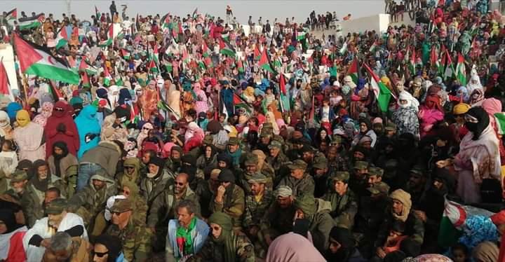 ⭕ GUERRA EN EL SAHARA | El pueblo saharaui recibe con gran euforia y gestos de gratitud a los soldados que iniciaron el ataque el pasado 13 de Noviembre contra las fuerzas de ocupación marroquíes