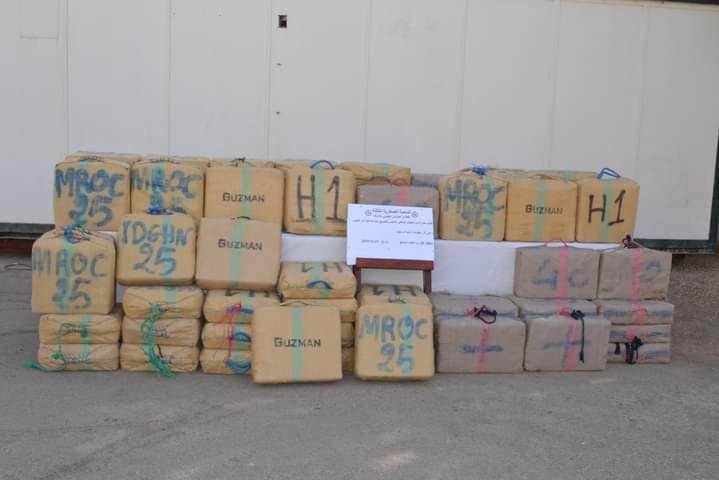 El Ejército de Argelia incauta grandes cantidades de hachís en la frontera con Marruecos
