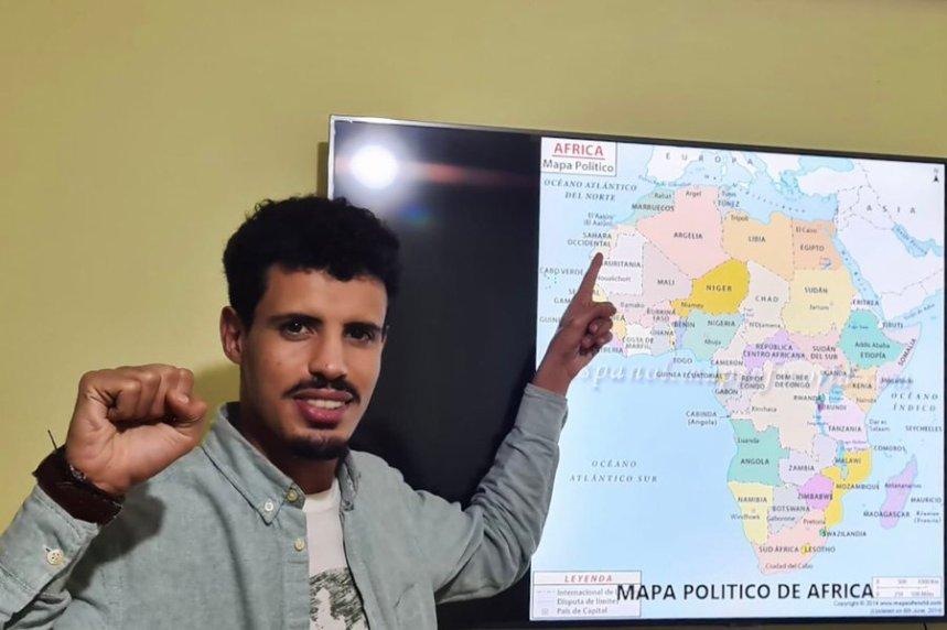 ¡ÚNETE A LA CAMPAÑA #ElSaharaNoEsMarroquí #WesternSaharaIsNotMorocco #الصحراء_الغربية_ليست_مغربية!