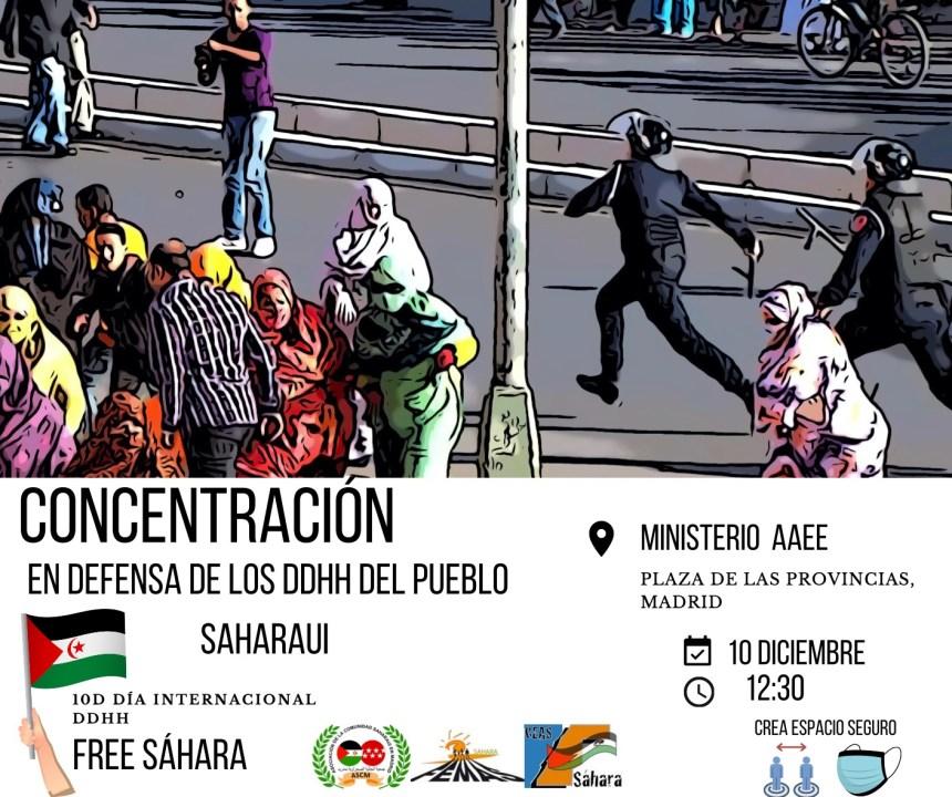 CEAS Sáhara y FEMAS convocan concentración frente al Ministerio de Asuntos Exteriores en la capital española | Sahara Press Service