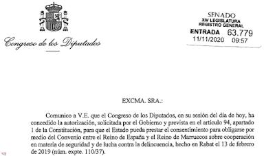 España aprueba un nuevo convenio junto a Marruecos en materia de seguridad y lucha contra la delincuencia