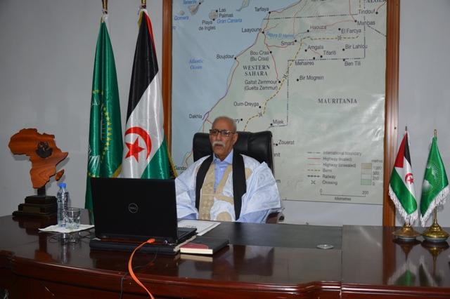 Sòlo con el fin de la ocupaciòn marroquí, podrá haber paz y estabilidad en esta región, afirma Presidente de la Repùblica | Sahara Press Service