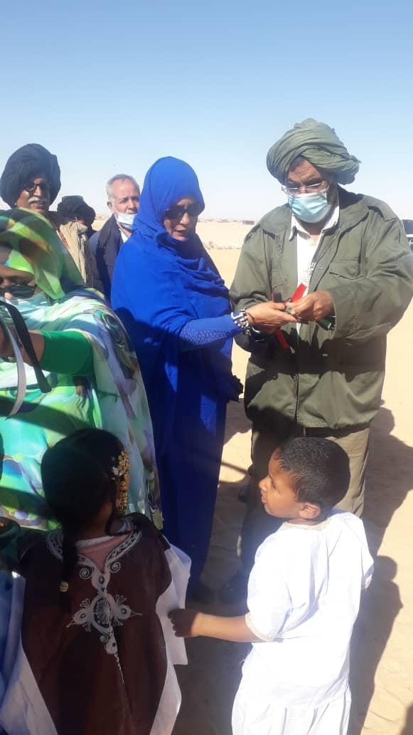 Inauguran un Centro de Aislamiento Médico para Enfermedades Contagiosas en los Campamentos de Refugiados Saharauis | Sahara Press Service