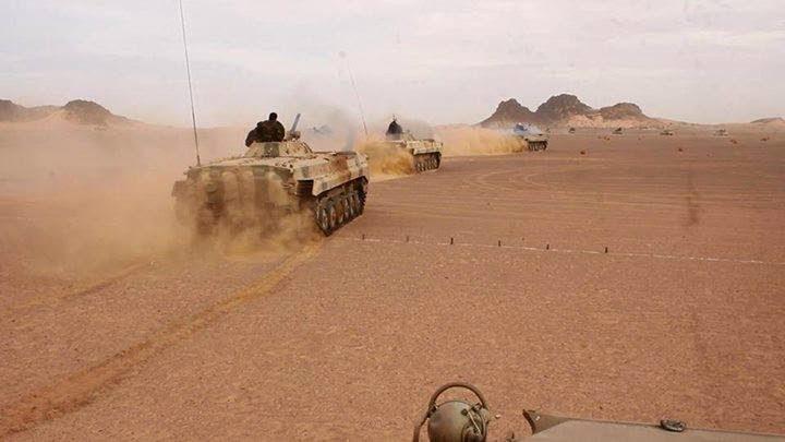 GUERRA EN EL SAHARA: Parte de guerra Nº31