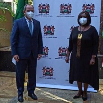 Boukadoum évoque avec son homologue kenyane les relations bilatérales et les foyers de tension en Afrique