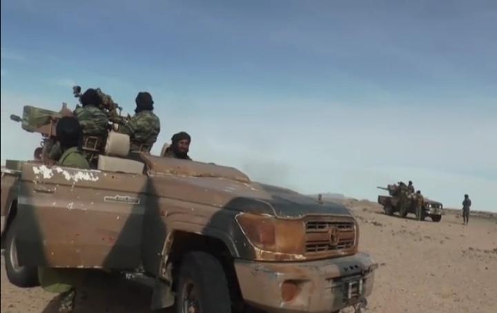 GUERRA EN EL SAHARA   Parte de Guerra Nº66