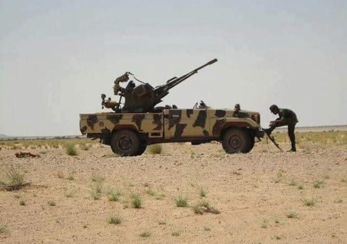 GUERRA EN EL SAHARA | Parte de guerra Nº73