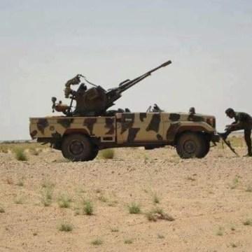 GUERRA EN EL SAHARA   Parte de guerra Nº73
