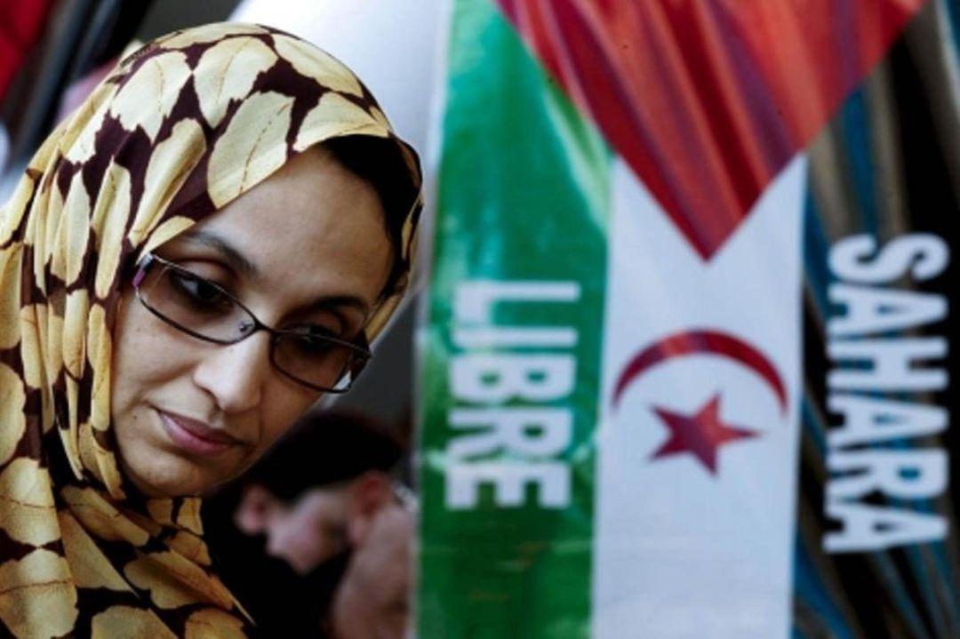 Imagen de archivo de la activista saharaui Aminatou Haidar
