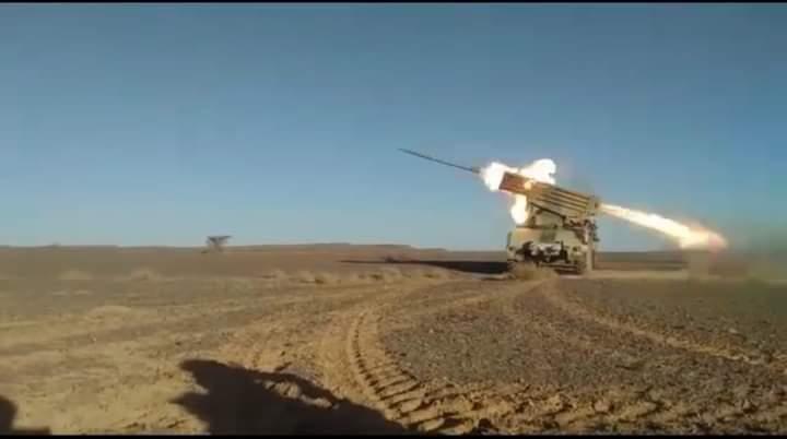 Dos meses de bombardeos de bases enemigas | Sahara Press Service