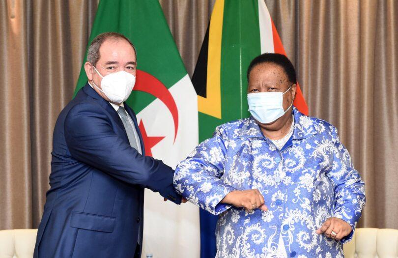 Los cancilleres de Argelia y Sudáfrica reafirman su posición de lograr la libre determinación del pueblo del Sáhara Occidental en los términos de la resolución 690 (1991) del Consejo de Seguridad y resoluciones posteriores