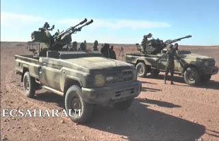 GUERRA EN EL SAHARA | El Ejército saharaui destruye un depósito de cohetes BM-21 de las FAR en un ataque en Mahbes