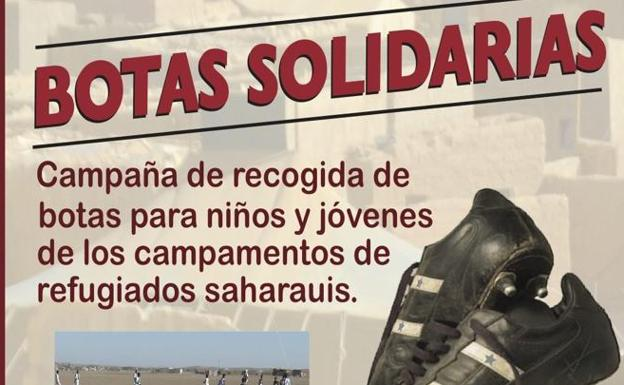 SALAMANCA   Unionistas se suma a la campaña 'Botas solidarias' de la Federación Saharaui de fútbol   El Norte de Castilla