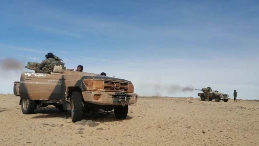 GUERRA EN EL SAHARA   El ejército saharaui continúa atacando por 62 días, las guarniciones y atrincheramientos de las fuerzas de ocupación marroquí   Sahara Press Service
