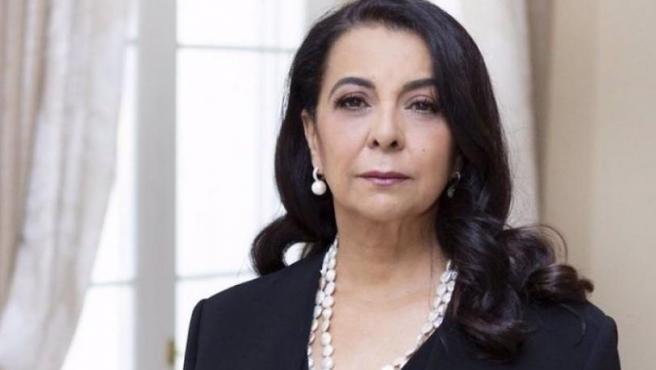 La embajadora de Marruecos en España, Karima Benyaich.