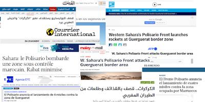 La prensa internacional se hace eco de la operación militar saharaui en El Guerguerat