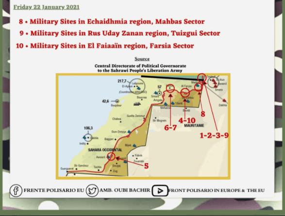 ¡ÚLTIMAS noticias – Sahara Occidental! | 22 de enero de 2021