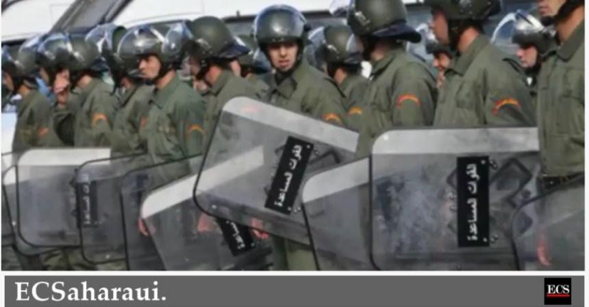 El Aaiún bajo asedio policial marroquí, el Ejército ha cercado la ciudad saharaui