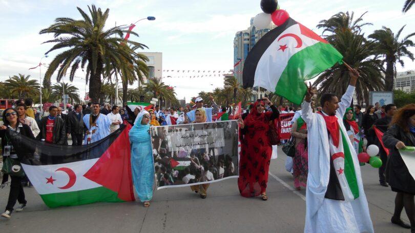 La solidaridad de la sociedad civil tunecina con la lucha del pueblo saharaui enfurece al régimen marroquí