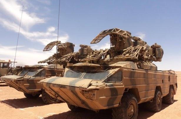 ⚫ 80 días continuados de bombardeos a las bases marroquíes distribuidas en el Muro de la Vergüenza