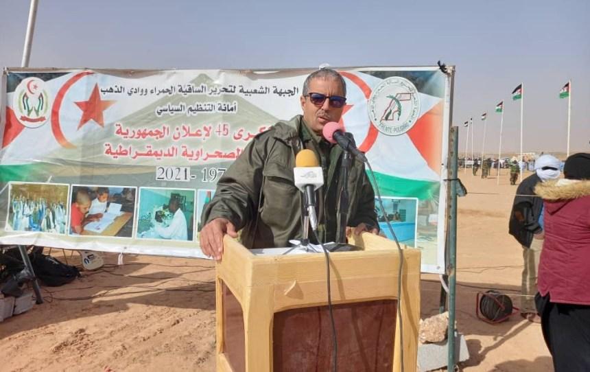 Luali Akeik: »El pueblo saharaui está más dispuesto que nunca a continuar la lucha hasta lograr la soberanía total»